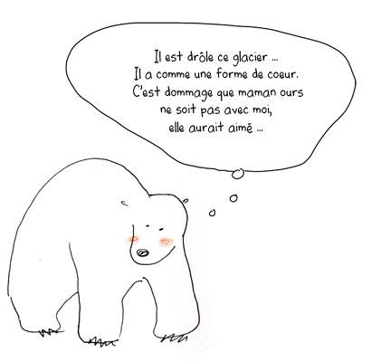 07 09 d lires d 39 ours polaires illustrations orbie - Dessiner un ours en maternelle ...