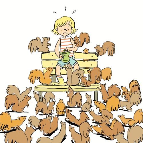 Chloé et les animaux