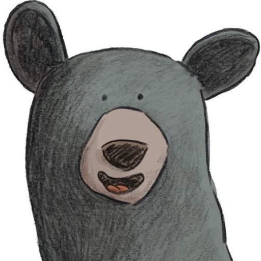Black bear illustration