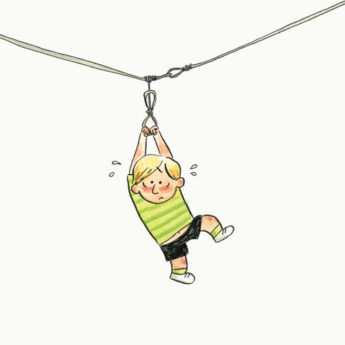 La corde à linge