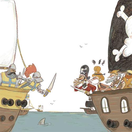 Les aventures de Sven le terrible : Pas de chevaliers pour les pirates