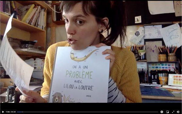 Atelier en ligne avec Lilou la loutre